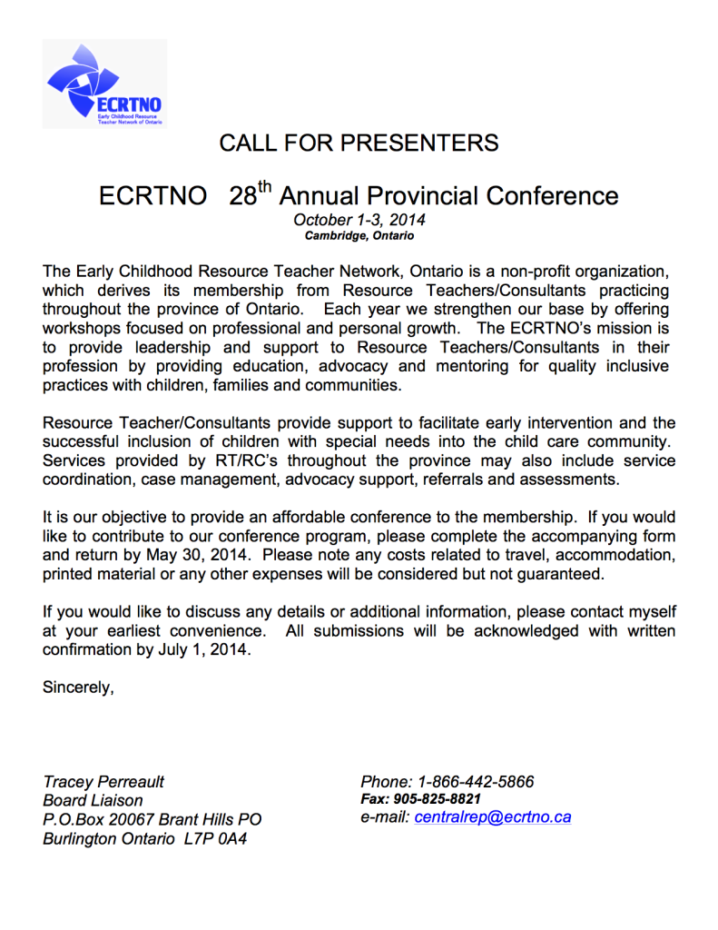 CALL FOR PRESENTERS for 2014 copy